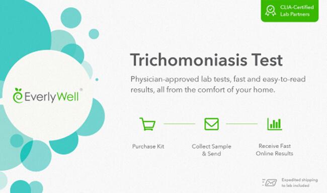 EverlyWell trichomoniasis test