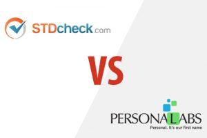 STDcheck VS Personalabs