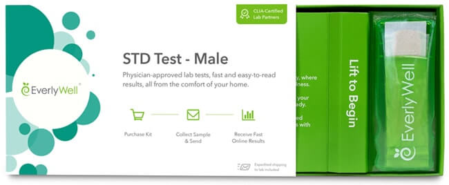 male test EverlyWell std