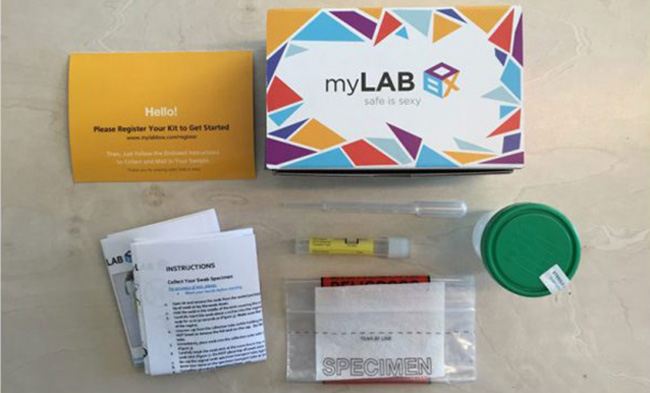 myLAB Box test