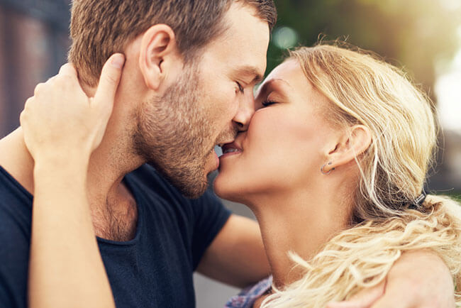 Gonorrhea and chlamydia through kissing
