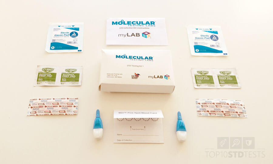 myLAB Box five spot blood test