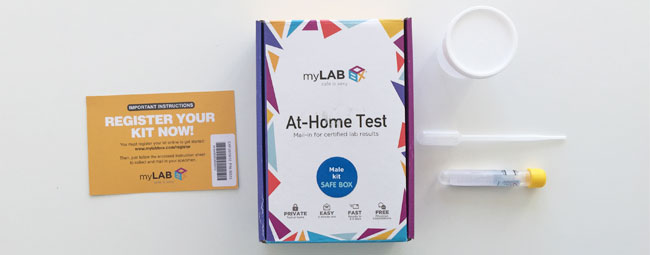 At-Home STD Testing Kit