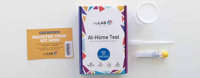 At-Home STD Testing Kit