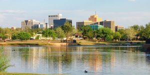 Midland, Texas on a Sunny Day